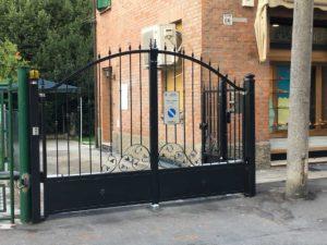 Realizzazione cancello in ferro battuto
