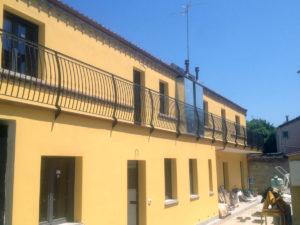 Parapetti in ferroper balconi