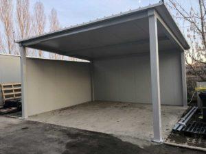 Strutture tettoie in ferro